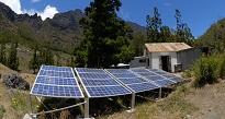 Installation photovoltaique pour site isolé