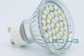 Spot LED GU10 36 LEDs SMD - 1,5W - 220V - LED 4G