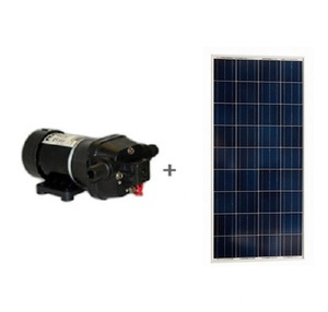 Kit pompe solaire FLOJET 19 l / min sans batterie