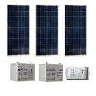 Kit solaire SITE ISOLE 270Wc Polycristallin - 12V