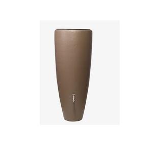 Récupérateur d'eau de pluie 2 en1 avec bac à plantes Taupe