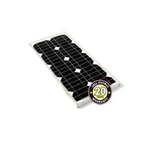 Panneau solaire 20 Wc Monocristallin Solar Technology sans câbles