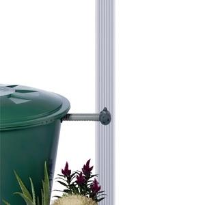 Collecteur eau de pluie Speedy Eco QUATTRO carré gris (sans découpe de gouttière) - GARANTIA