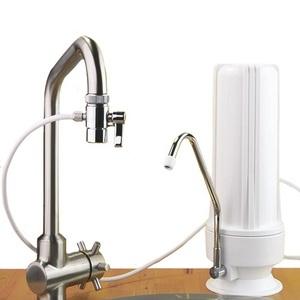 Filtre ECO sur évier avec une cartouche EMX - HYDROPURE TECE-EM