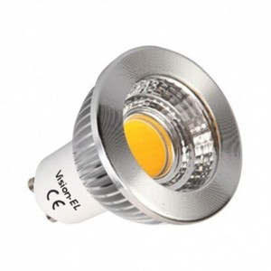 Spot LED 6W GU 10 dimmable COB Blanc froid