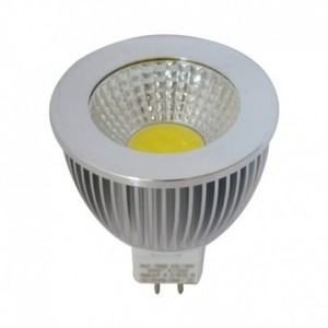 Spot LED 6W MR16 dimmable COB Blanc froid