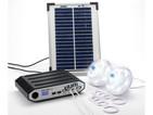 Kit eclairage solaire HUBI 2000