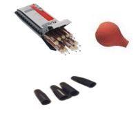 Kit de contrôle d'étanchéité à l'air (3 éléments poire + 10 tubes fumigènes+bouchons obturateurs) - DRAGER