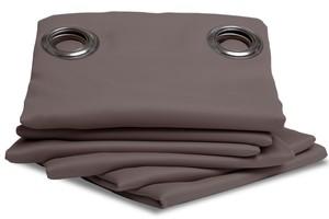 Rideau Isolant Thermique Hiver couleur Poivre 145 X 260 cm