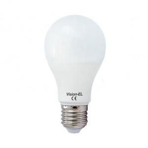 Ampoule LED 6W E27 Blanc Chaud - VISION-EL