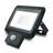 Projecteur LED 20W avec détecteur de mouvements IP65