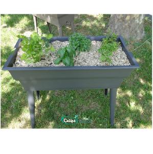 Jardiniere Calipso MAXI BASIC Gris