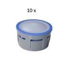 10 x Régulateurs de débit robinet 8 l/min - jet aéré
