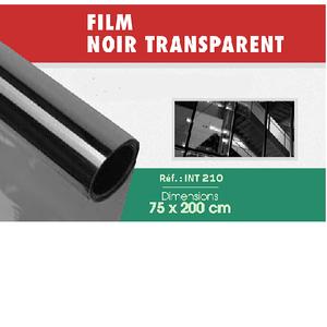 Film noir transparent 75 x 200 cm